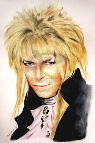 David Bowie by raechel